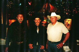 With Buck Taylor and Jerry MItchell