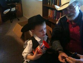 Jr Cowboy, Great Grandson, Zachary