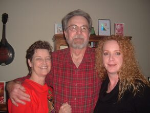 With Judy and Daughter, Debbi