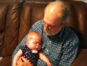 With Great-Grandson, Judah